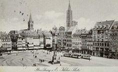 Strasbourg, Place Kléber avant 1918 (1910?)