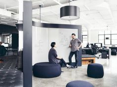 Squarespace's sophisticated new offices sprawl out in a histor...