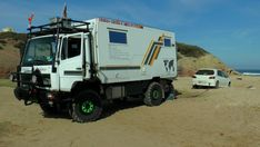 Bild vom Mobbi in Marokko ... Truck Camper, Camper Van, Adventure Campers, Expedition Vehicle, Land Rover Defender, Motorhome, Offroad, Recreational Vehicles, 4x4