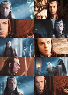"Four Elves [1/4] → Lord Elrond  ""Men? Men are weak. The Blood of Numenor is all but spent, it's pride and dignity forgotten. It is because of Men the Ring survives. I was there, Gandalf. I was there three thousand years ago. I was there the day the strength of Men failed."""