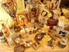 So many details in this faded french flea market items in  - check out the dime!