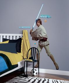 Star Wars Classic Luke Peel & Stick Giant Decal by Star Wars #zulily #zulilyfinds