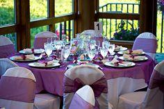 @sheryl  My daughters purple wedding