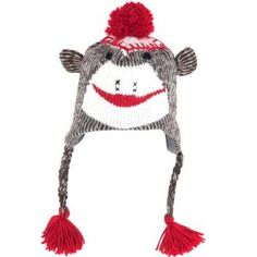 to wear with my matching sock monkey footie pajamas...