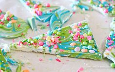 Chocolate Candy Bark I'm a big fan of the talented Katherine Sabbath, a baker in Australia who makes the most amazing, whimsical and beautiful cakes.  I fell in love with her cakes that she refers to as...