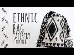 How to Crochet a Wayuu-Style Base - Part 2 - YouTube