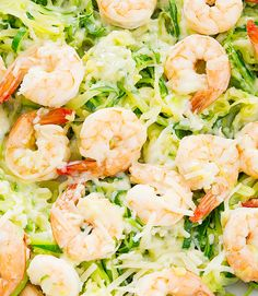 Zucchini noodles are paired with shrimp and tossed in agarlic butter sauce and sprinkled with Parmesan cheese. There's melted cheese and garlicky deliciousness in every bite. I'm always trying to find ways to sneak zucchini noodles into Mr. K's meals. He's on board with everything cauliflower and has enjoyed the broccoli bread grilled cheese, broccoli …