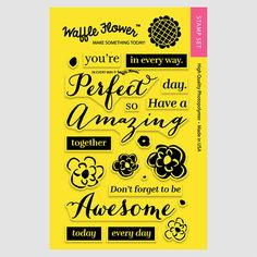 In Every Way Stamp Set | Waffle Flower Crafts