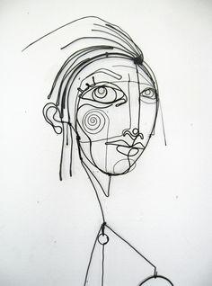 Diane Komater   Wire Sculptures