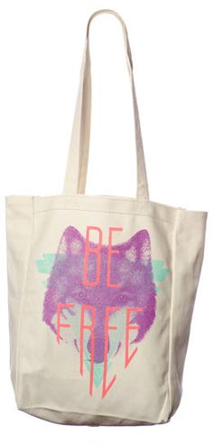 Proceeds from this tote bag go towards freeing young girls from the Cambodian sex-trade. Pick one up!