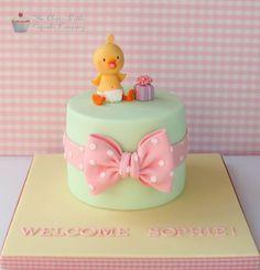 New Baby Cake - CakesDecor