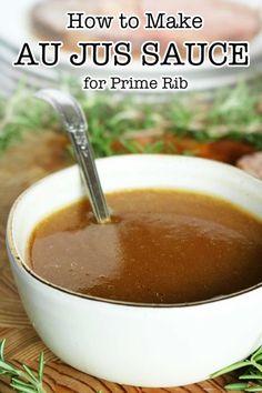 Rib Recipes, Roast Recipes, Sauce Recipes, Cooking Recipes, Cheap Recipes, Healthy Recipes, Dinner Recipes, Cooking Sauces, Appetizers