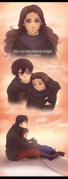 "Im not one for Zuko and Katara but this is cute. And it doesn't have to mean ""Zutara"". I have guy friends that are the same way."