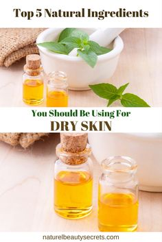 Read On To Find About The Top 5 Natural Ingredients To Use To Combat Dry Skin.