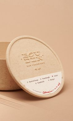 Boudin SF—Plastic Free Food Packaging by Yi Mao, ArtCenter College of Design - World Brand Design Plastic Food Packaging, Food Packaging Design, Branding Design, Label Design, Design Design, Design Ideas, Interior Design, Sustainable Food, Sustainable Design