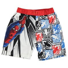 Boys #marvel spiderman #board shorts #swimming trunks ages 2 through to 13 bnwt,  View more on the LINK: 	http://www.zeppy.io/product/gb/2/172278114452/