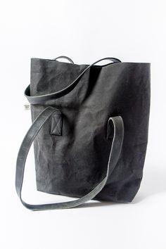 e62be7cf2d0b4 torba Countryside black POTPOT (washpapa; washable kraft paper) Papier Typu  Kraft