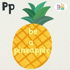 Stand tall  wear a crown  and be sweet on the inside  #quoteoftheday #quote #hiphophen #phonics #inspirationalquote #motivationalquote #design #illustration #eyfs #preschool #pineapple