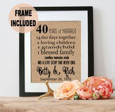 Wedding Gifts For Remarried Parents : ... Gifts, 50th Anniversary Gifts and Anniversary Gifts For Parents
