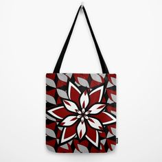 Garnet floral pattern Tote Bag by cocodes Reusable Shopping Bags, Tote Pattern, Garnet, Shops, Community, Tote Bag, Link, Floral, Stuff To Buy
