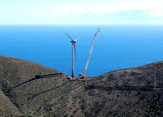 El Hierro Canary Islands goes 100% wind power #windpower #energy #enviornment