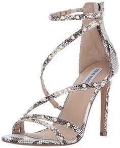dfa8a854014 Steve Madden Women s Meg Dress Sandal Heeled Sandals