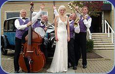 Jazz Band Wedding Yorkshire Jazz Band Hire Weddings UK Civil Ceremony Reception Live Music