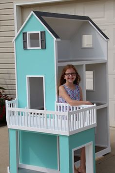 New Diy Baby Furniture Ag Dolls Ideas Casa American Girl, Muebles American Girl, American Girl Crafts, American Girl Furniture, Girls Furniture, Doll Furniture, Girls Dollhouse, Modern Dollhouse, American Girl Dollhouse