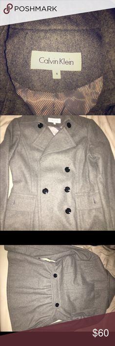 Final Sale -Calvin Klein blazer Mint condition. Never worn. Women's 6. Winter is coming! Accepting fair offers. Calvin Klein Jackets & Coats Blazers