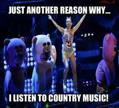Yep..gone country