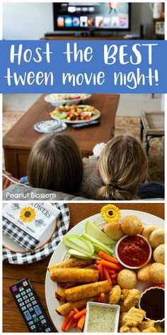 How to throw together an awesome movie snack board in under 10 minutes Easy movie snacks for family movie night. Great way to host the best-ever movie night with your tweens. Don't miss this awesome list of movies to watch with your kids. Movie Night Snacks, Family Movie Night, Family Movies, Easy Movies, Good Movies, Movies For Tweens, Movie Candy, Dinner And A Movie, Filling Food