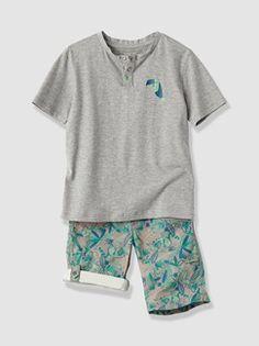 Conjunto camiseta + bermudas niño