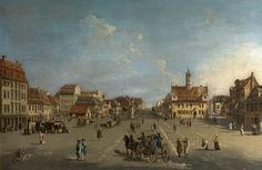 The Neustädter Markt in Dresden Bernardo Bellotto (1722–1780) (after) Thirlestane Castle
