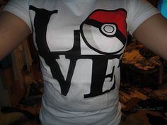 Pokemon love tee