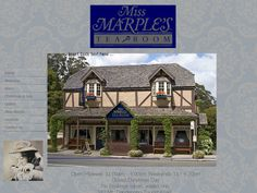 Miss Marple's Tea Room in Sassafras in the Dandenongs