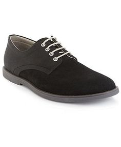Calvin Klein Men's Shoes, Felix Suede/Nylon Buck Shoes - All Men's Shoes - Men - Macy's