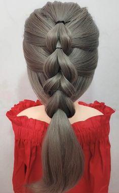 Can't find a hair style that suits you? Try this ponytail hairstyle - Uñas Coffing Maquillaje Peinados Tutoriales de cabello Daily Hairstyles, Ponytail Hairstyles, Girl Hairstyles, Hairstyles Videos, Ponytail Styles, Short Hair Styles, Crazy Hair Days, Pinterest Hair, Stylish Hair
