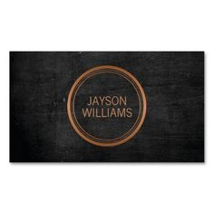 265 best business cards for networking personal use images on vintage copper circle personal business card colourmoves