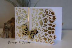 Scrap' à Coeur: Des cartes toutes en dentelles...