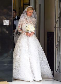 Nicky Hilton in her Valentino wedding dress <3