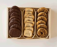 Make an artful gift, with a cookie gift box. Made with Panibois wooden baking molds. All you need is girl scout cookies, ribbon and our free printable gift label.