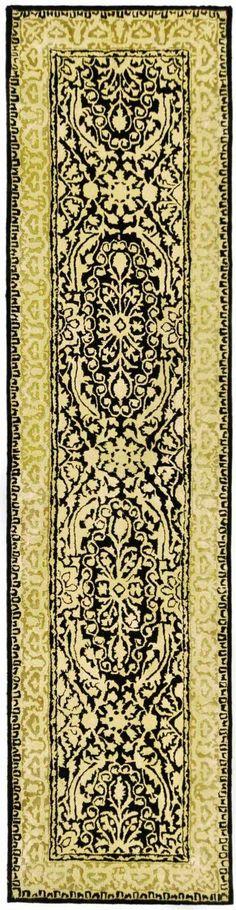 Safavieh Silk Road SKR213 Black Ivory