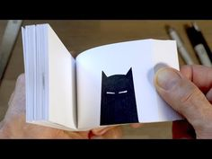 BATMAN FLIPBOOK (and How I Made It) - YouTube Cool Paper Crafts, Diy Arts And Crafts, Crafts For Kids, Flip Photo, Batman Drawing, Cool Optical Illusions, Flipbook Animation, Clay Animation, Animation Reference