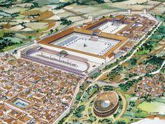 Tarraco está construída a imagen y semejanza de las ciudades romanas y destacan en ella el circo romano, el anfiteatro, las murallas y el acueducto de Les Ferreres.