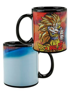 Dragon Ball Z Super Saiyan Goku Heat Reveal MugDragon Ball Z Super Saiyan Goku Heat Reveal Mug,