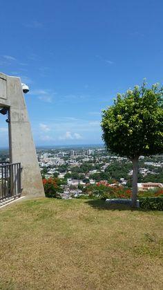 Vista desde Cruceta del Vigia,Ponce PR