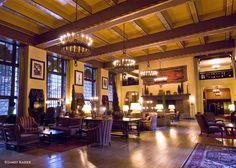 Great Room, Ahwahnee Hotel, Yosemite National Park