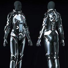 Eve Online - Combat Suit - High Poly , Andrei Cristea on ArtStation at https://www.artstation.com/artwork/DmxrG