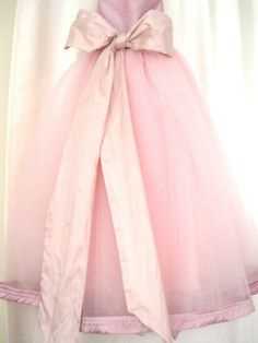 tulle skirt with bows instead of tutu??