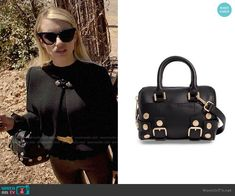 a7397b25b5c Madison s studded bag on American Horror Story Apocalypse. Outfit Details   https